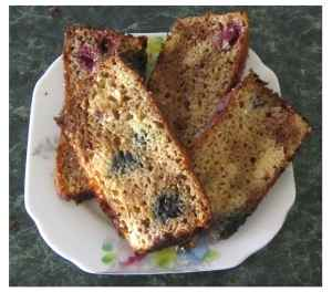 This colourful gluten-free loaf has a lovely lemon tang mixed together with the taste of coconut.