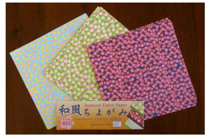 Pretty Japanese paper - the colours are gorgeous.